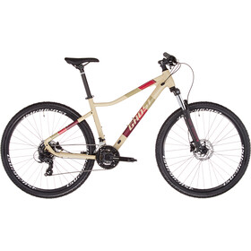 """Ghost Lanao Base 27.5"""" Donna, beige/rosso"""